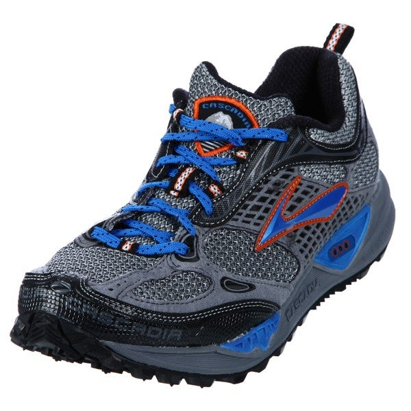 Brooks Men's 'Cascadia' Grey Athletic Trail Shoes