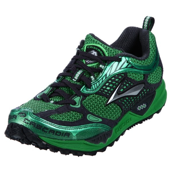Brooks Men's 'Cascadia' Green Athletic Trail Shoes
