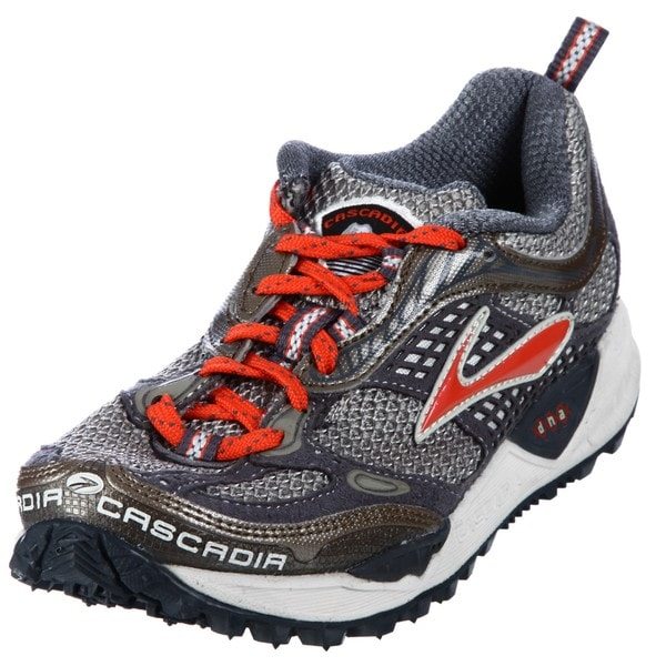 Brooks Women's 'Cascadia' Brown/ Red Athletic Trail Shoes