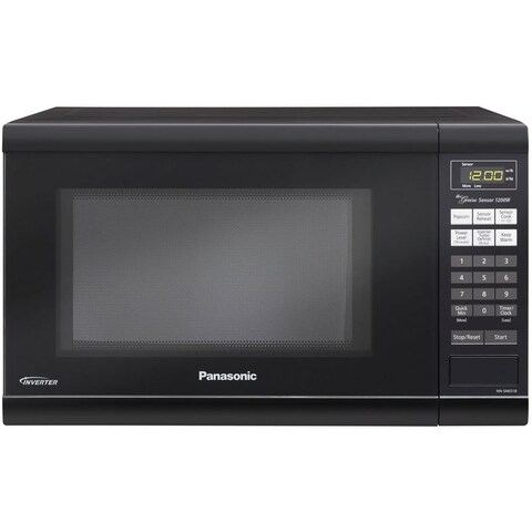 Panasonic NN-SN651B Countertop Microwave Oven with Inverter Technology (Black)