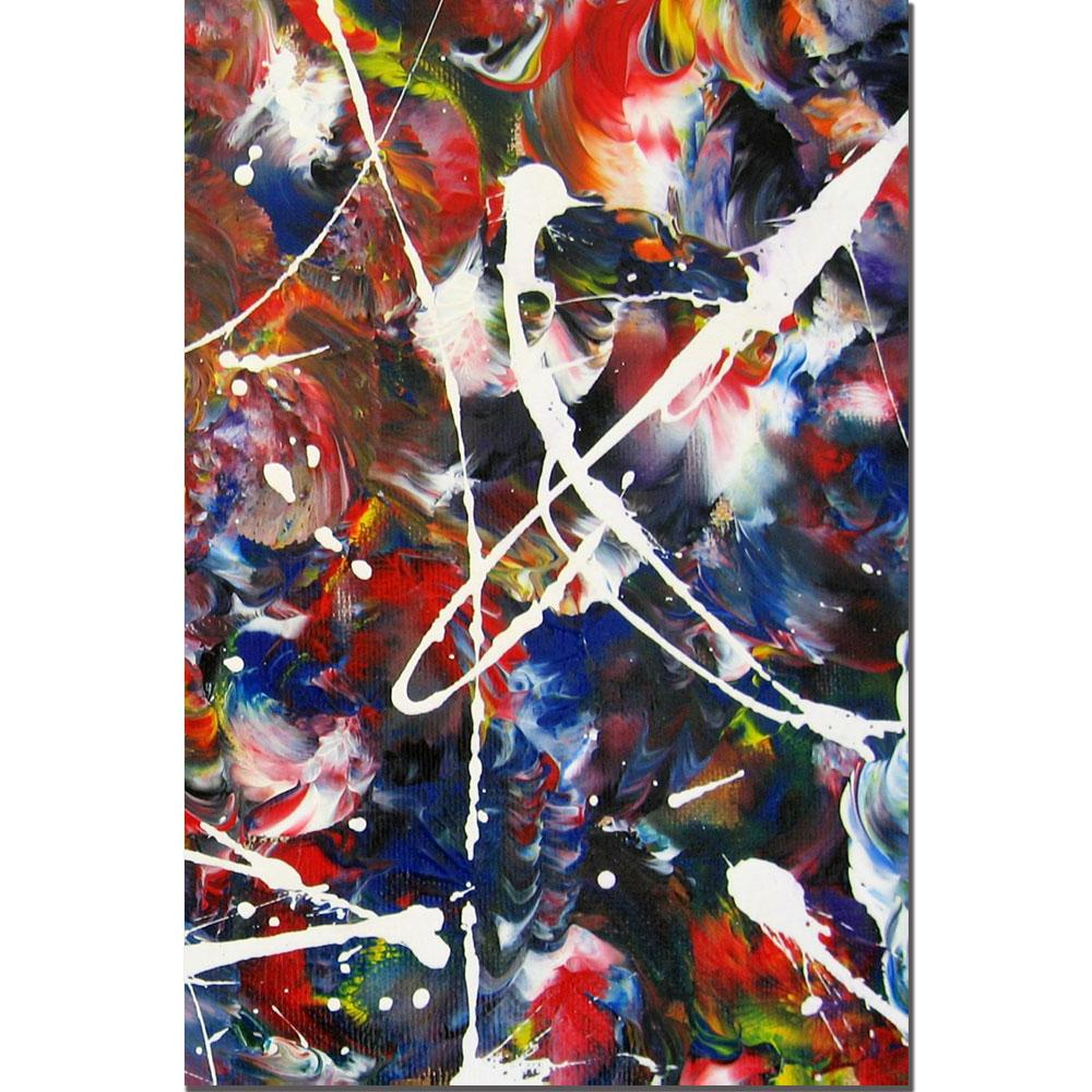 Don Cox 'Abstract XV' Canvas Art