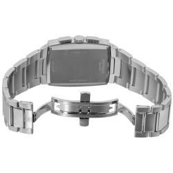 Movado Men's 'Eliro' Stainless Steel Chronograph Watch - Thumbnail 1