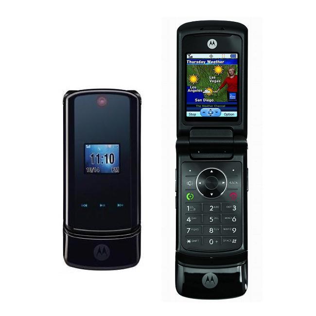 Motorola KRZR K1M US Cellular Black Cell Phone (Refurbished) - Free Shipping On Orders Over $45