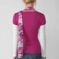 Love Always Junior's Long Sleeve Shirt/ Scarf Set