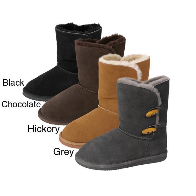 Brumby Women's 'EEC1006' Sheepskin Lined Suede Boot