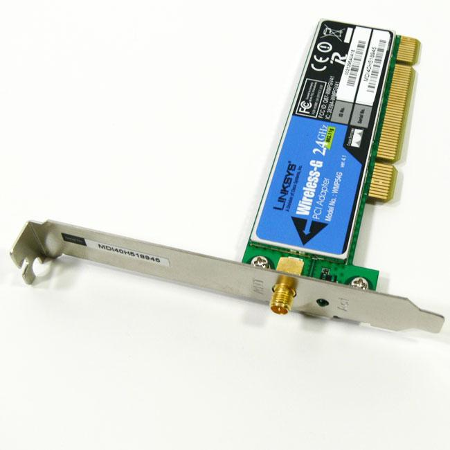LINKSYS PCI WMP54G DRIVER FOR PC