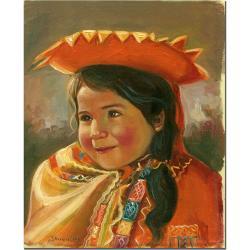 Jimenez 'Imillita' Canvas Art