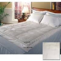 Jacquard 400 Thread Count Pillow Top Featherbed