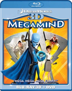 Megamind 3D (Blu-ray/DVD)