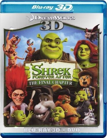 Shrek Forever After 3D (Blu-ray/DVD)