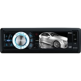 Boss Audio BV7280 Single-DIN 3.2 inch Screen MECH-LESS Receiver, Deta