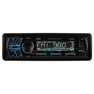 Boss Audio 650UA Single-DIN CD/MP3 Player Receiver, Detachable Front