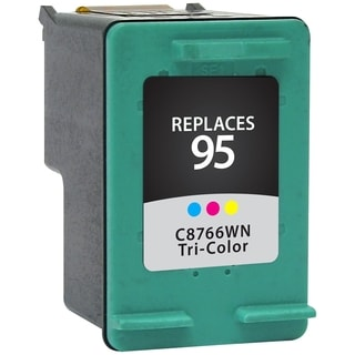 V7 Tri-Color Ink Cartridge for HP Ink Deskjet HP C8766WN, 460c Mobile