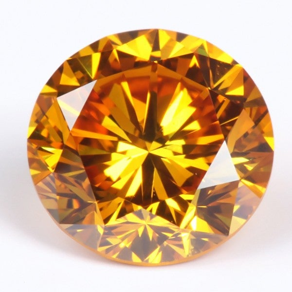 Star Legacy Pet Memorial Diamond - .50 CT Round-Cut Fancy Cognac Diamond