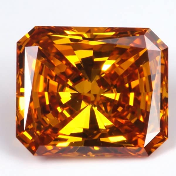 Star Legacy Pet Memorial Diamond - .25 CT Radiant-Cut Fancy Cognac Diamond