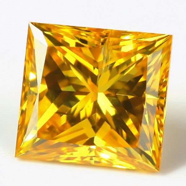 Star Legacy Pet Memorial Diamond - .25 CT Princess-Cut Fancy Cognac Diamond
