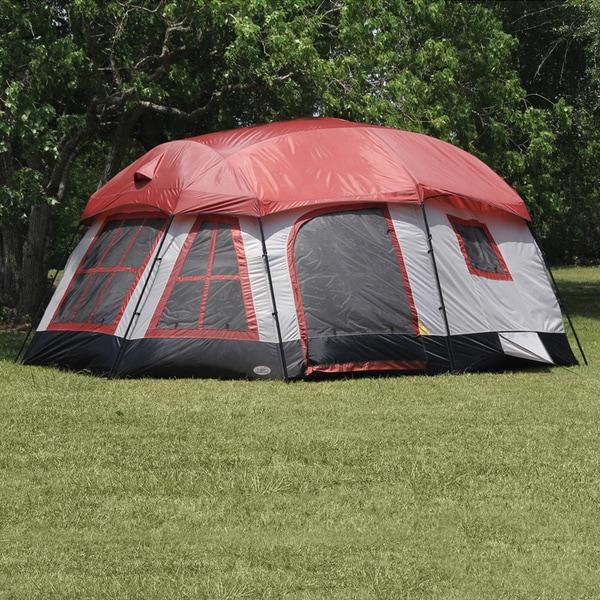 Texsport Highland Three-room Family Cabin Tent