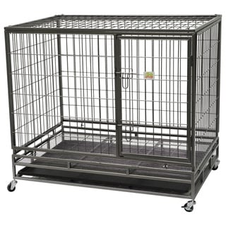 Go Pet Club Heavy-Duty Metal Wire Pet Cage