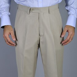 Men's Bone Flat Front Pants (More options available)