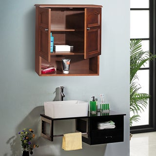Lindo 2-Door Wall Cabinet by Elegant Home Fashions