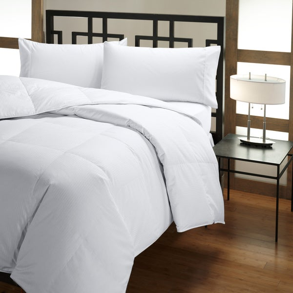 PrimaLoft 500 Thread Count Tencel-Cotton Down Alternative Comforter