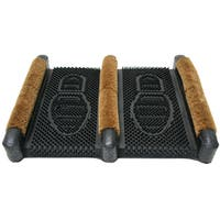 Rubber-Cal Traditional Rubber Coir Boot Scrusher