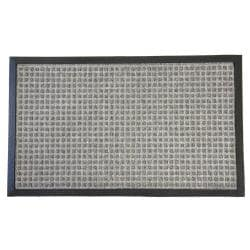 Rubber-Cal Nottingham Grey Carpet Entrance Mat (3' x 5')
