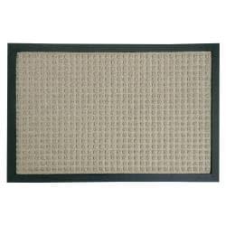 Rubber-Cal Nottingham Tan Carpet Entrance Mat (2' x 3')