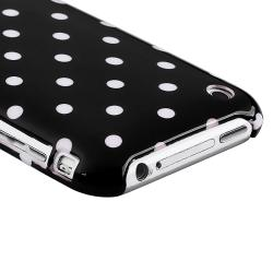 Polka Dot Case/ Screen Protector/ Car Charger for Apple iPhone 3GS