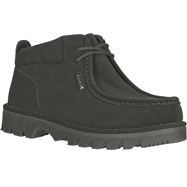 Lugz Men's 'Fringe' Black Durabrush Boots - Thumbnail 0