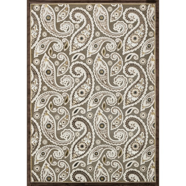 Madison Dark Brown Rug (7'7 x 10'6)