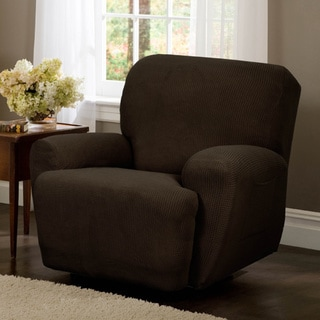 Maytex Reeves Stretch 4-piece Recliner Slipcover