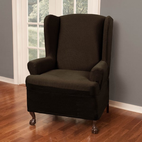 Maytex Reeves Stretch Wing Chair Slipcover