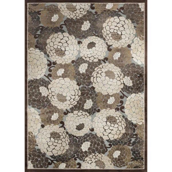 Madison Grey/ Beige Rug (7'7 x 10'6)
