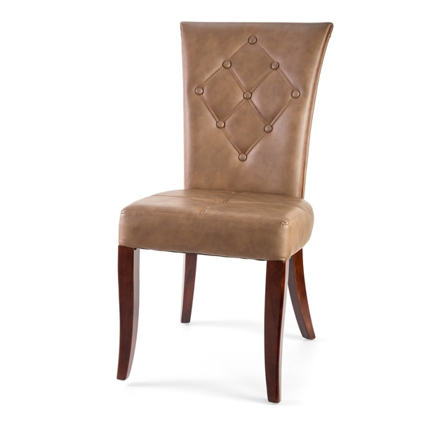 Harmony Leather Dining Chairs (Set of 2)