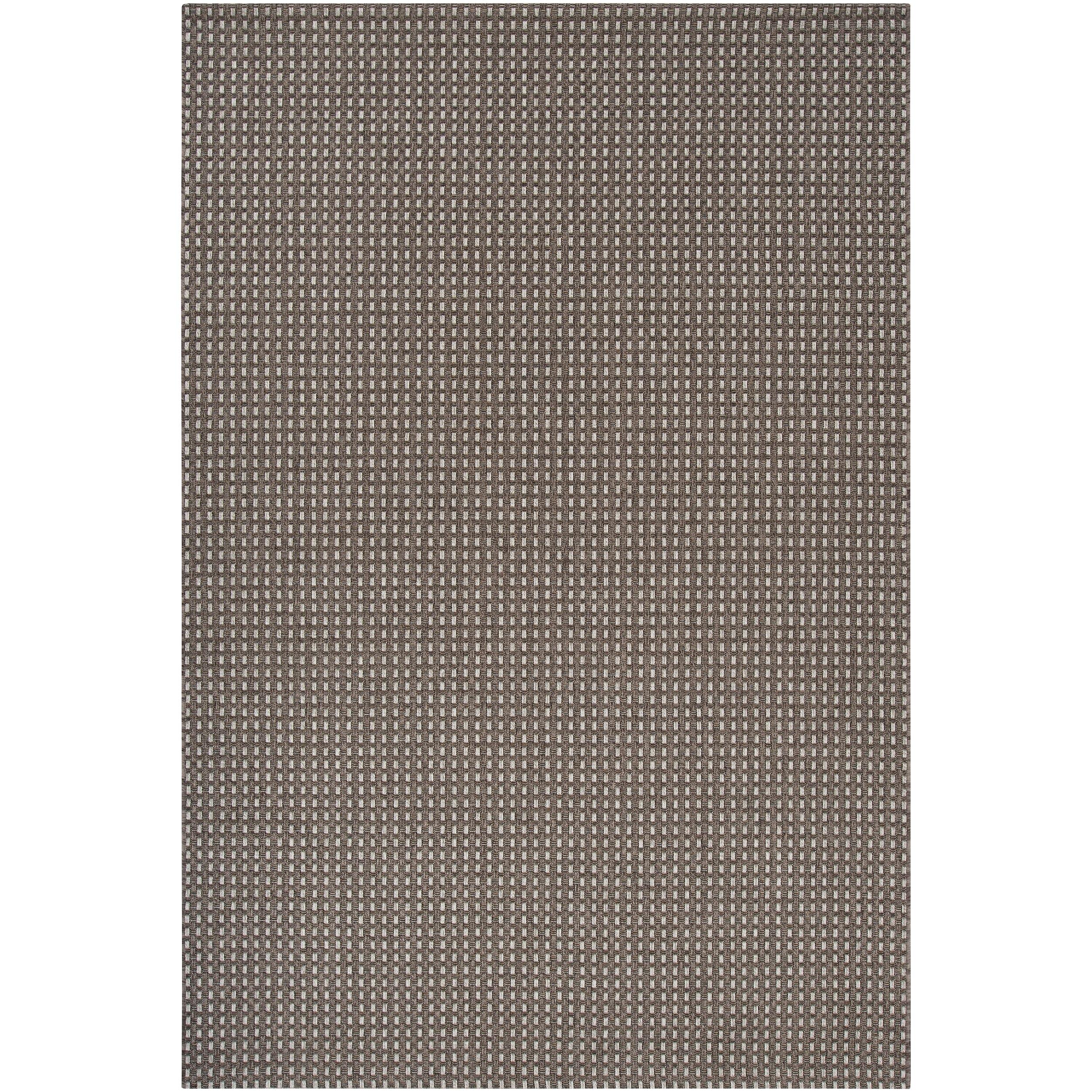 Woven Javane Cream Indoor/Outdoor Area Rug (7'10 x 11'1)