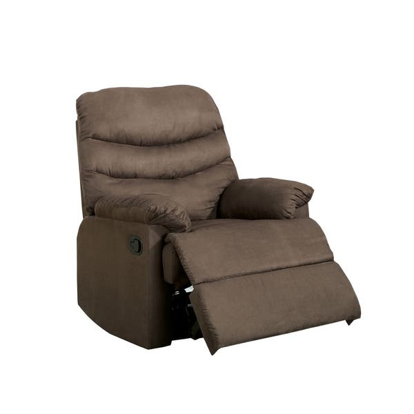 Fantastic Dalton Modern Light Brown Recliner Chair By Foa Onthecornerstone Fun Painted Chair Ideas Images Onthecornerstoneorg