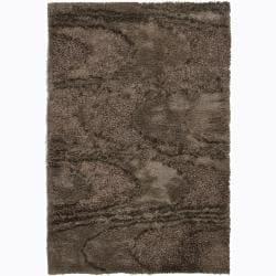 Artist's Loom Hand-woven Shag Rug (5' x 7'6) - 5' x 7'6 - Thumbnail 0