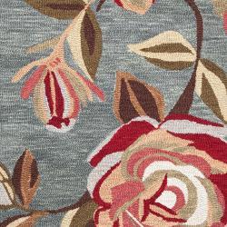 Hand-tufted Gray Centennial Wool Rug (8' x 11')