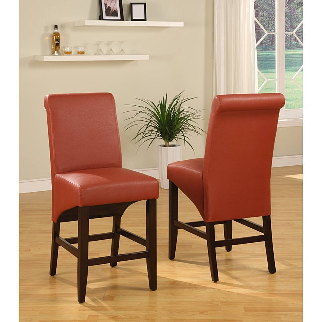 Sleigh Back Sienna Counter Stool Set Of 2 Free