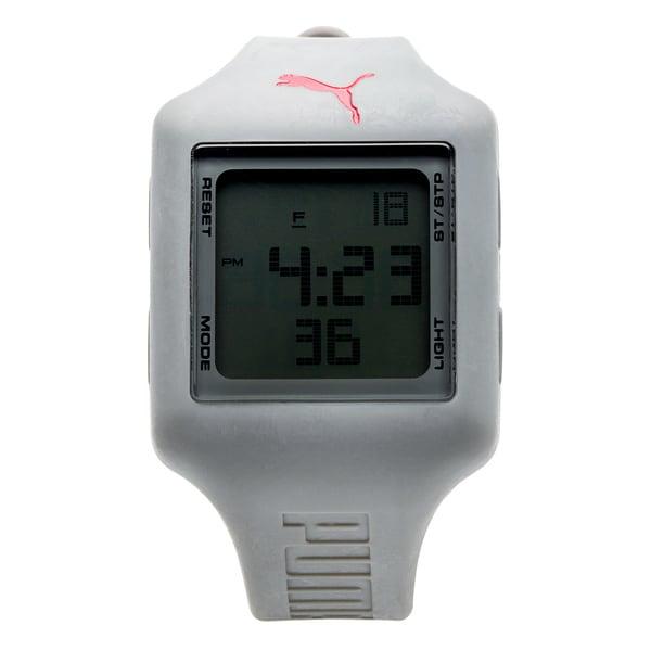 Puma Unisex PU910791008 Slide Strap Grey Digital Watch