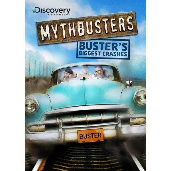 MythBusters: Buster's Biggest Crashes (DVD)