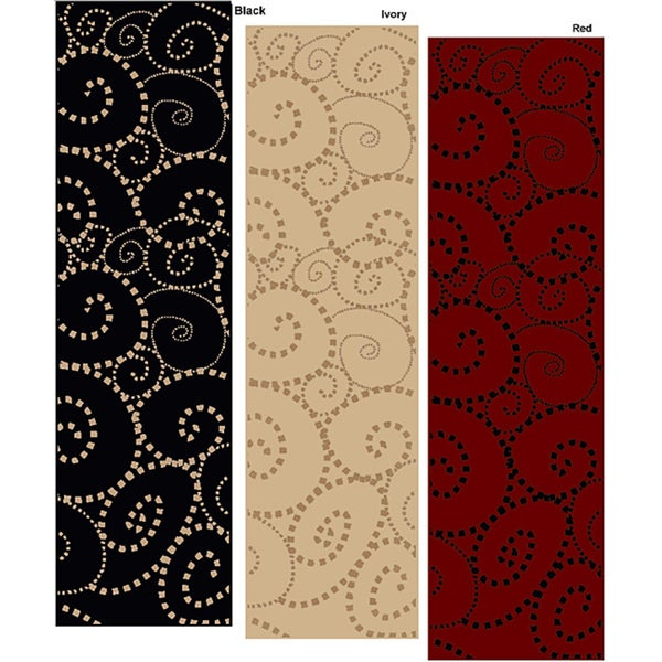 Admire Home Living Virginia Madison Contemporary Runner Rug (2'2 x 7'7)