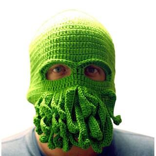 Knitnut By JL Green Cthulhu Ski Mask