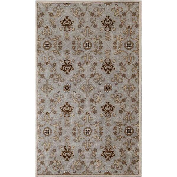 Hand-tufted Ashwood Wool Rug (5' x 8')