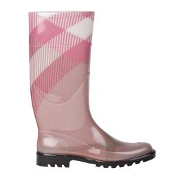 Burberry Women's Pink Exploded Check Rain Boots - Free Shipping ...