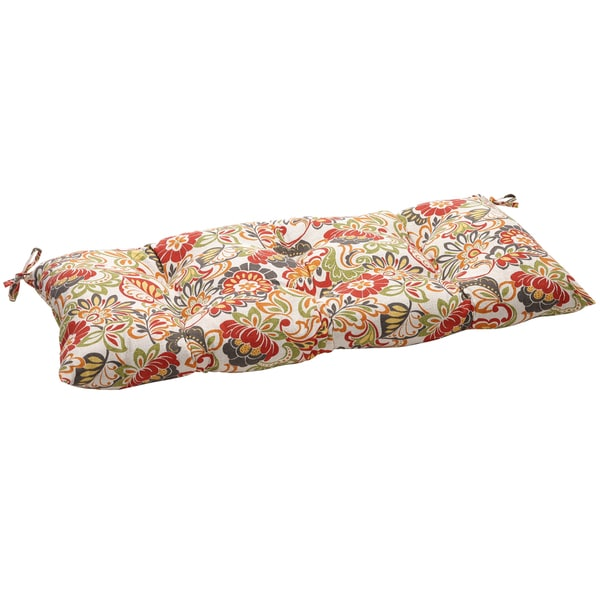 Pillow Perfect Outdoor/ Indoor Zoe Multicolor Swing/ Bench Cushion
