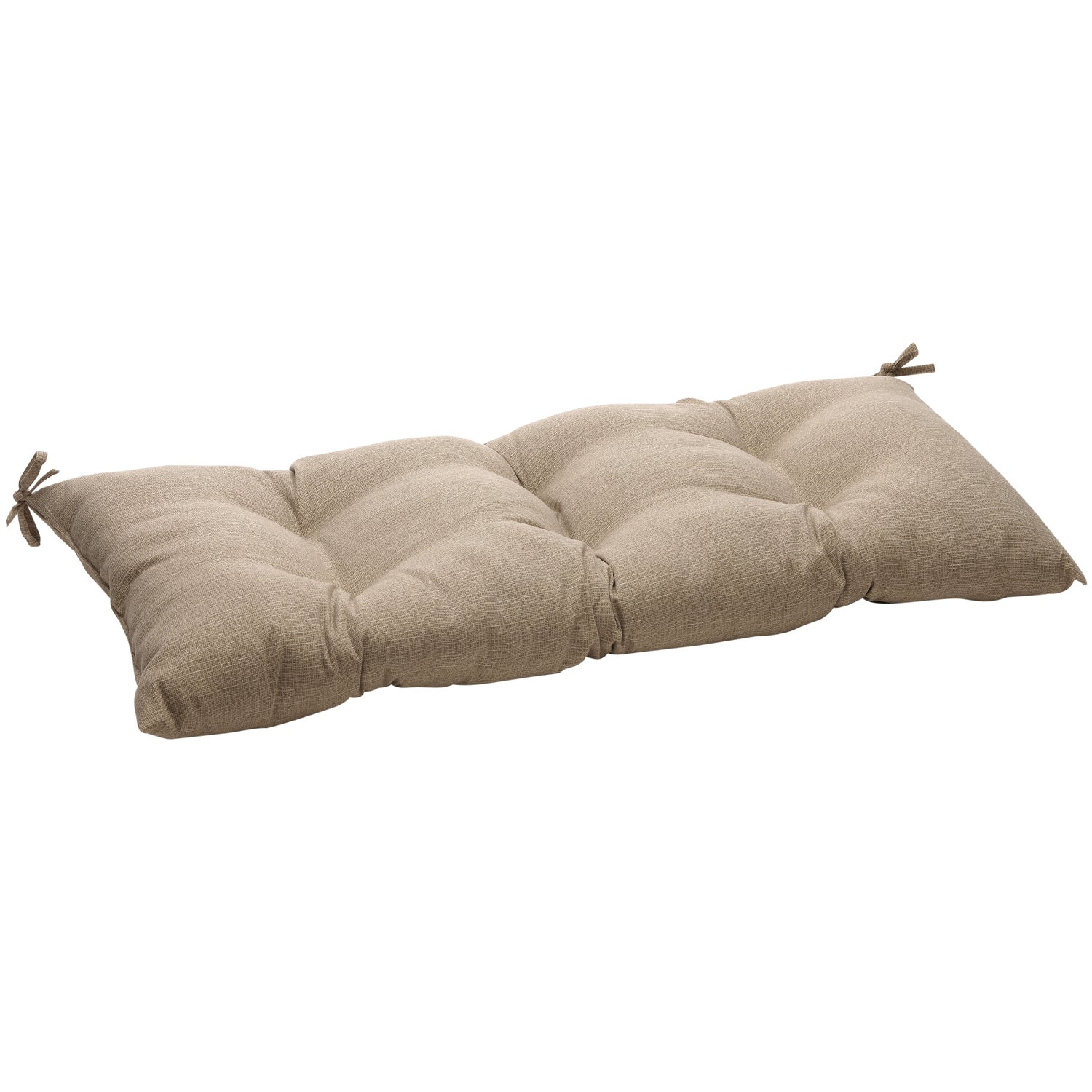 Pillow Perfect Outdoor/ Indoor Monti Taupe Swing/ Bench Cushion