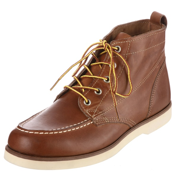 Sebago Men&39s &39Fairhaven&39 Tan Leather Chukka Boots - Free Shipping