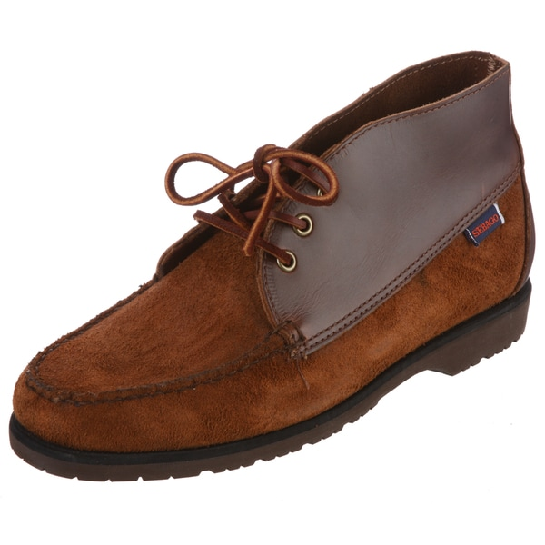881db4e1d8b87 Shop Sebago Men's 'Badlands' Cedar Leather Chukka Boots - Free ...